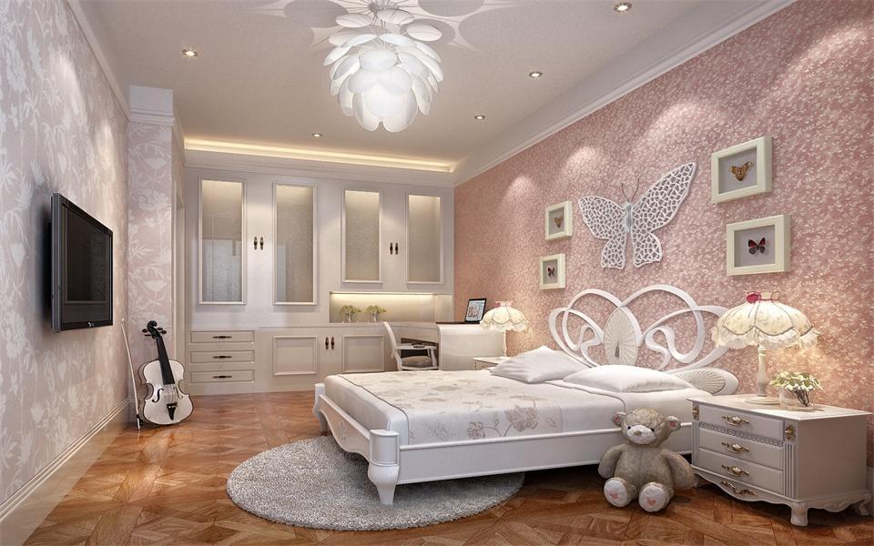 4室2卫2厅180平米欧式风格