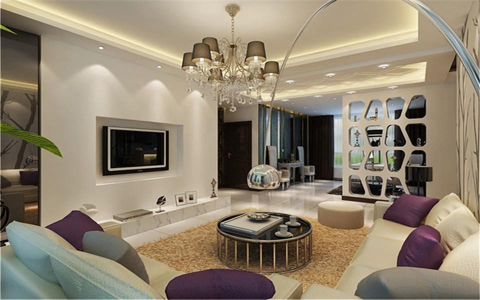 3室1卫2厅125平米现代简约风格