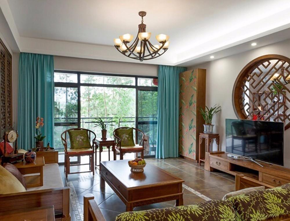 2020中式古典240平米装修图片 2020中式古典三居室装修设计图片