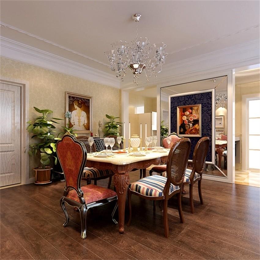 2室1卫2厅96平米欧式风格