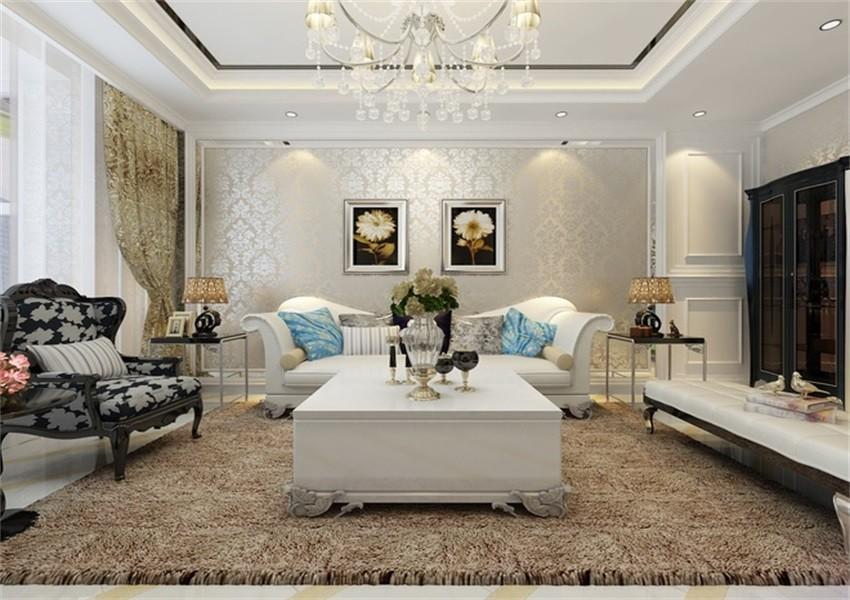 3室1卫2厅105平米现代风格