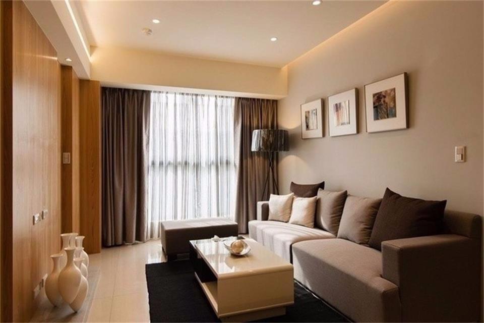 简约风格59平米两室两厅新房装修效果图