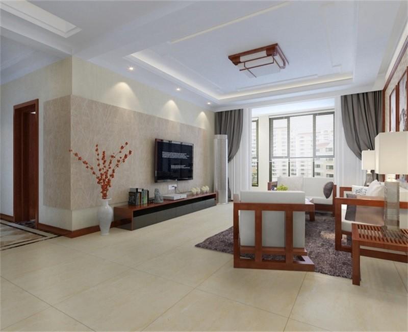 3室2卫2厅123平米中式风格