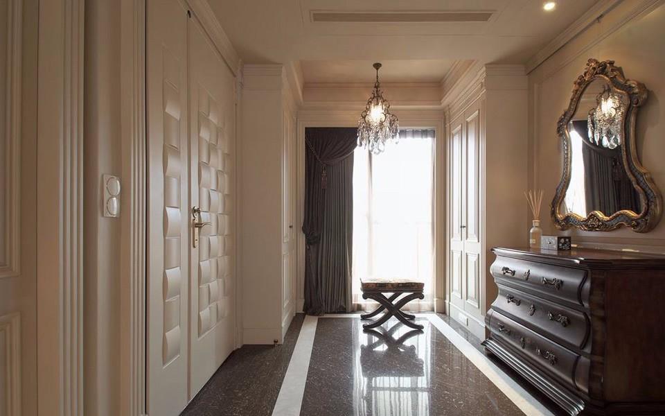 135平美式风格四居室装修效果图