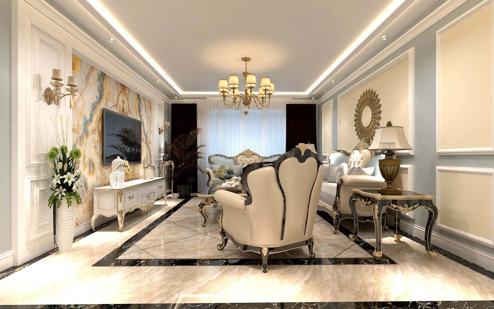 3室2卫2厅150平米简欧风格