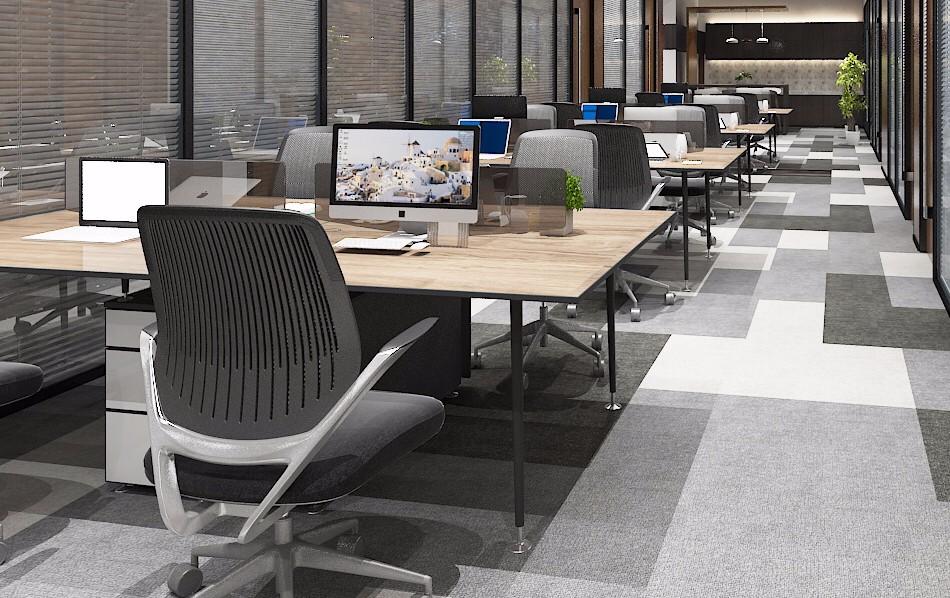 基金公司办公室装修效果图