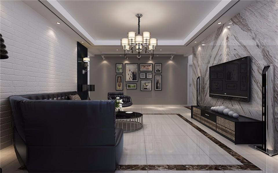 3室2卫2厅138平米后现代风格