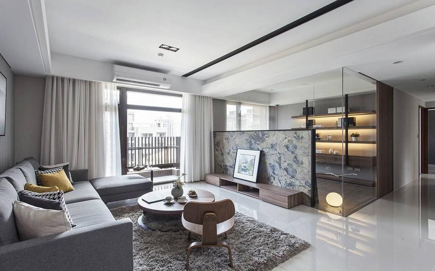 3室2卫2厅117平米现代简约风格