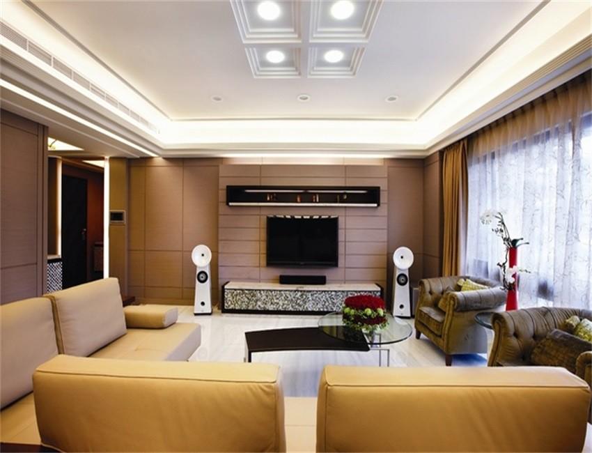 146平米中式风格三居室装修效果图
