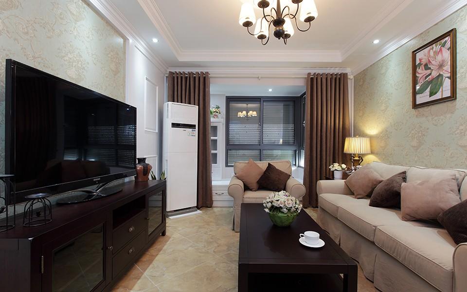 2室1卫2厅90平米美式风格