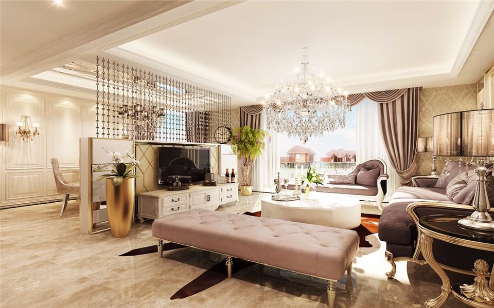 4室2卫2厅220平米简欧风格
