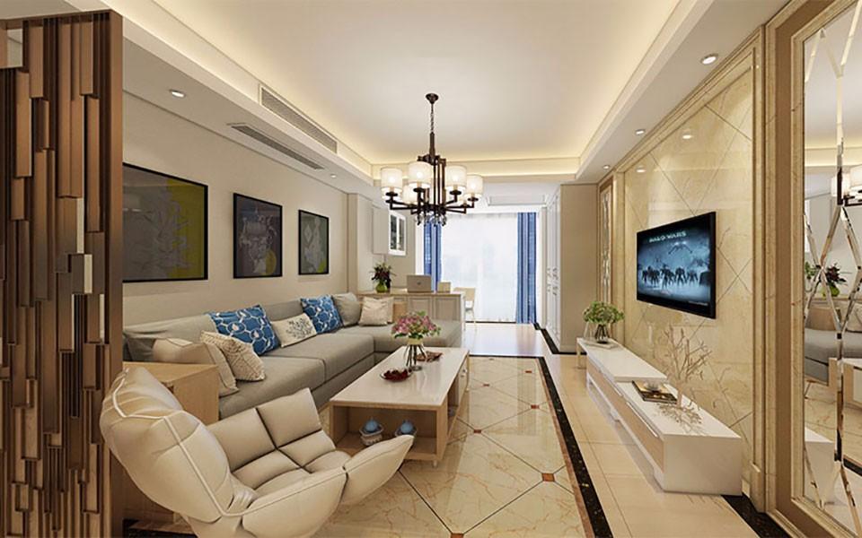 3室2卫2厅110平米现代风格