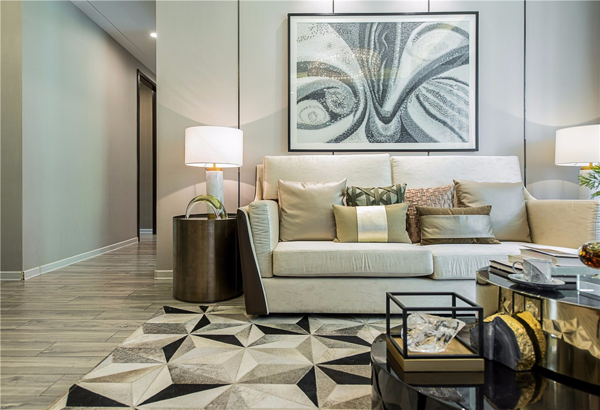 80~100m²/现代简约/三居室装修设计