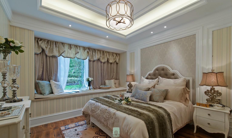 法式风格170平米三室两厅新房装修效果图