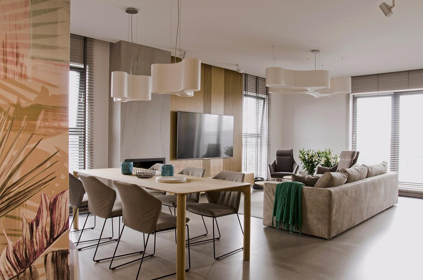 北欧风格80平米公寓新房装修效果图