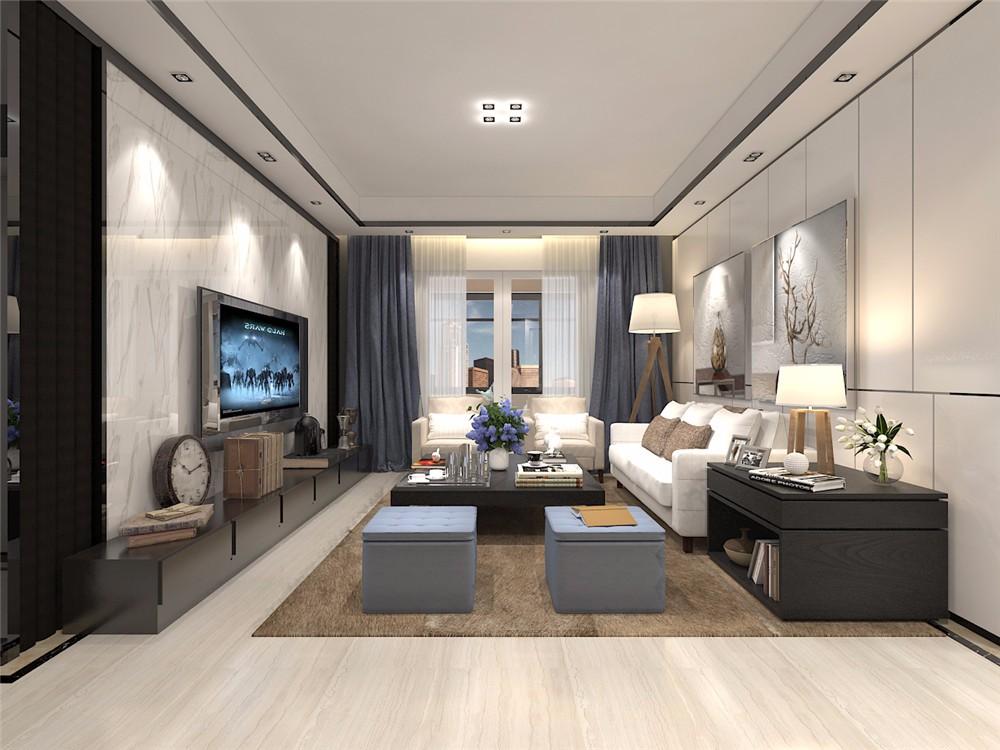 3室2卫2厅130平米现代风格