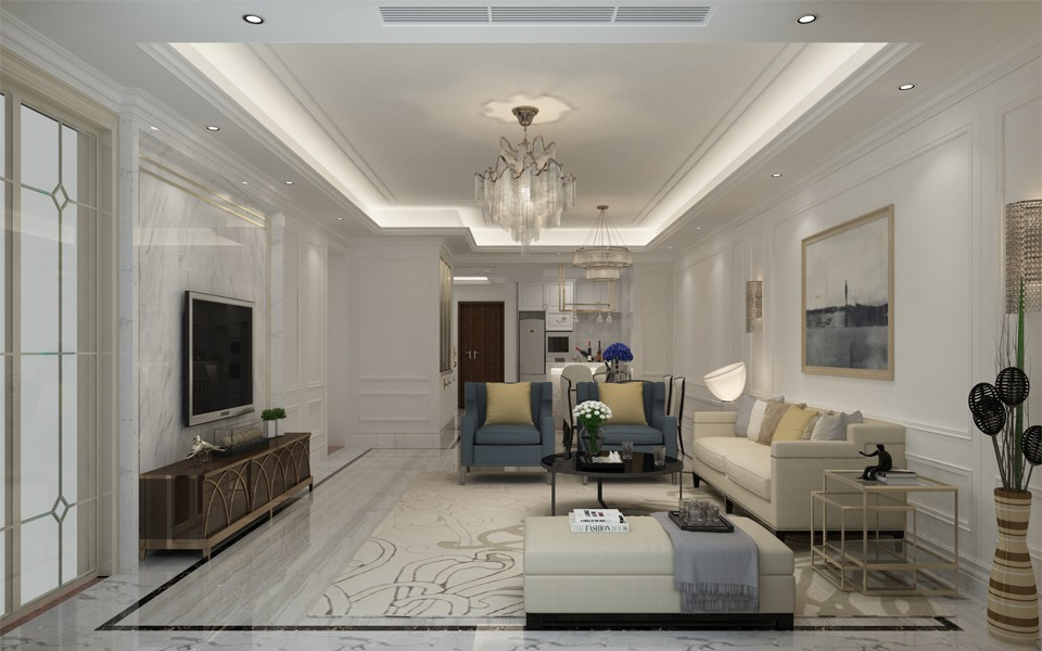 4室2卫2厅180平米简欧风格