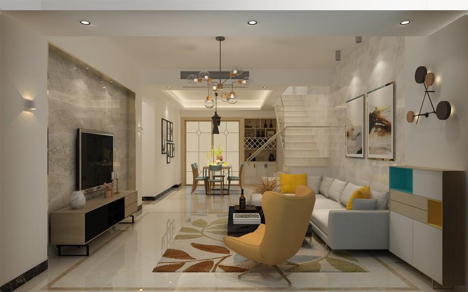 4室3卫2厅149平米现代简约风格