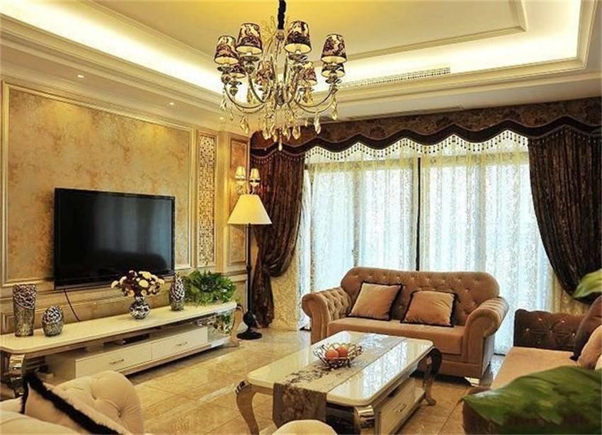 3室2卫2厅136平米古典风格