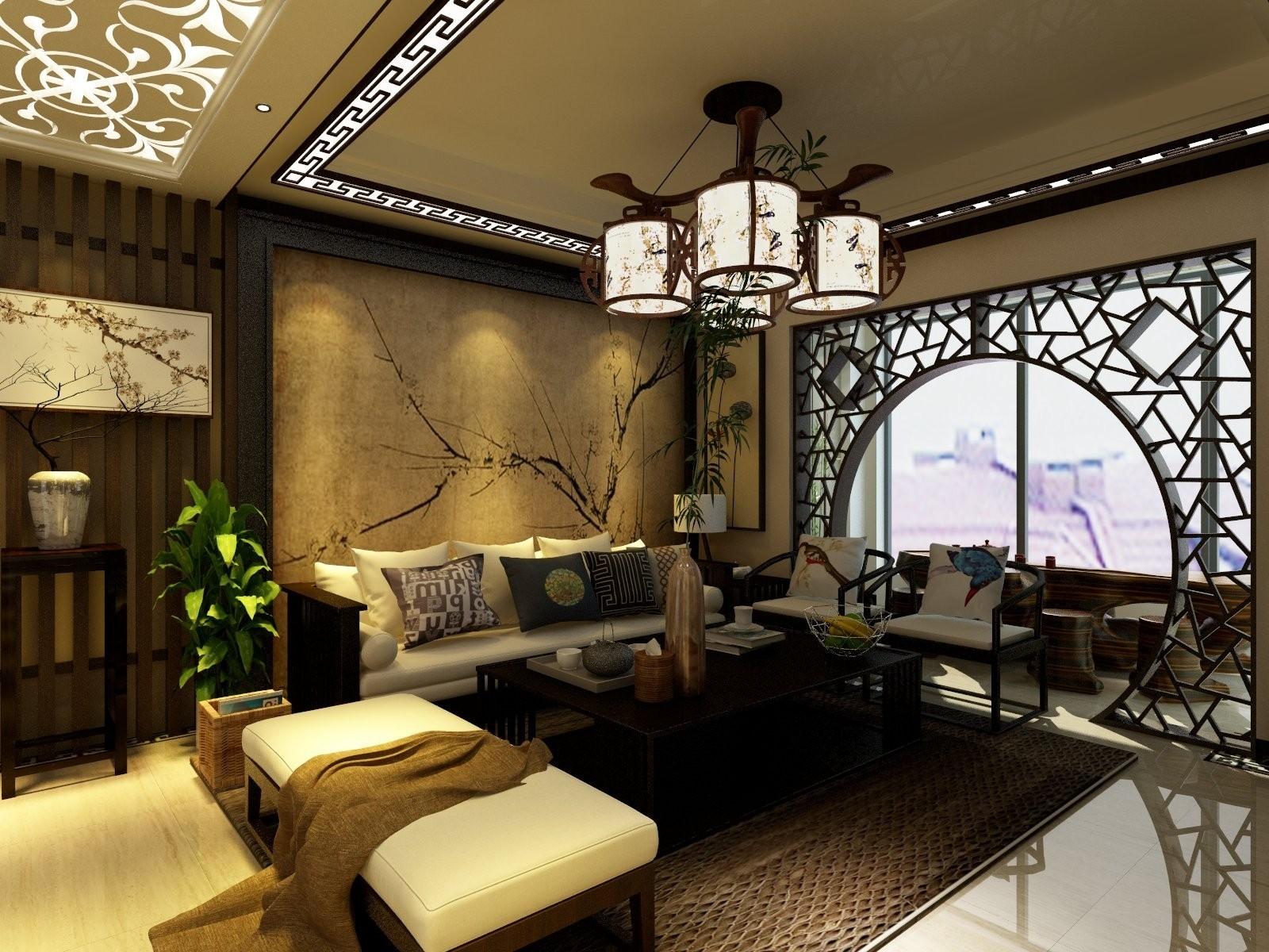 2室1卫3厅163平米新中式风格