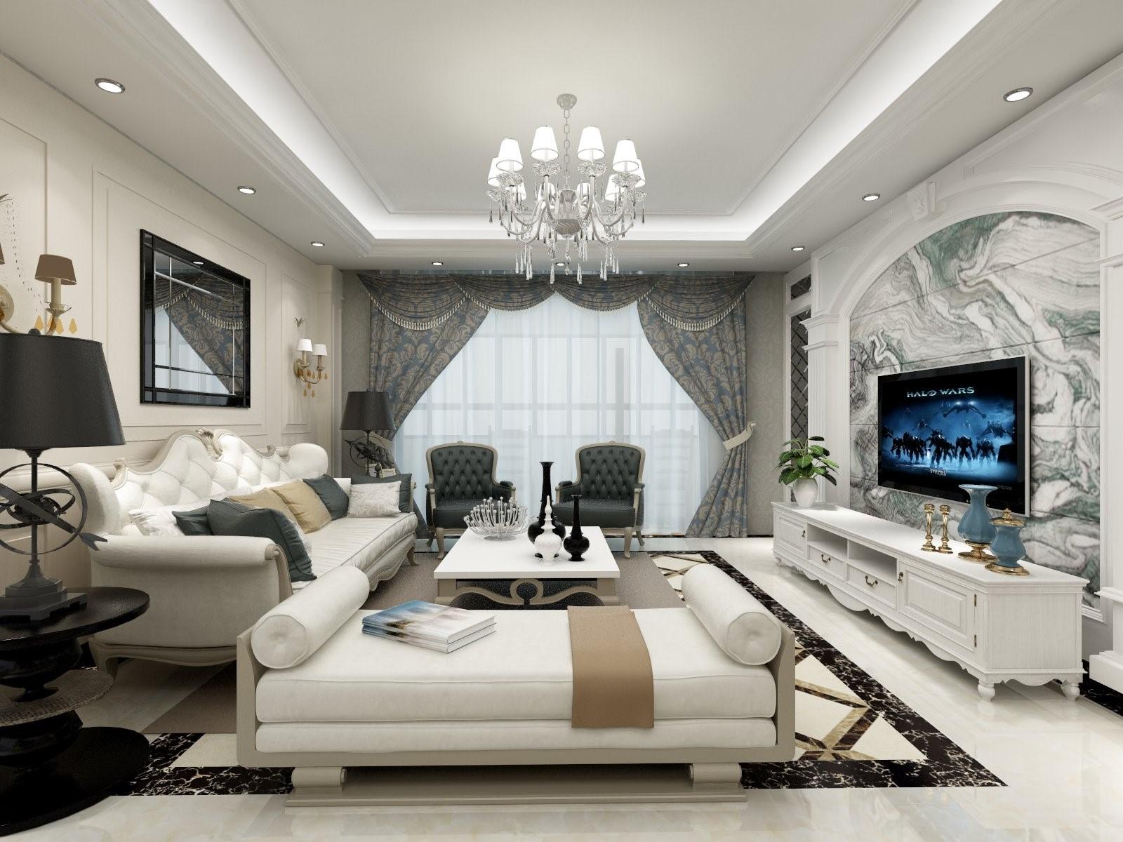 4室2卫2厅149平米欧式风格