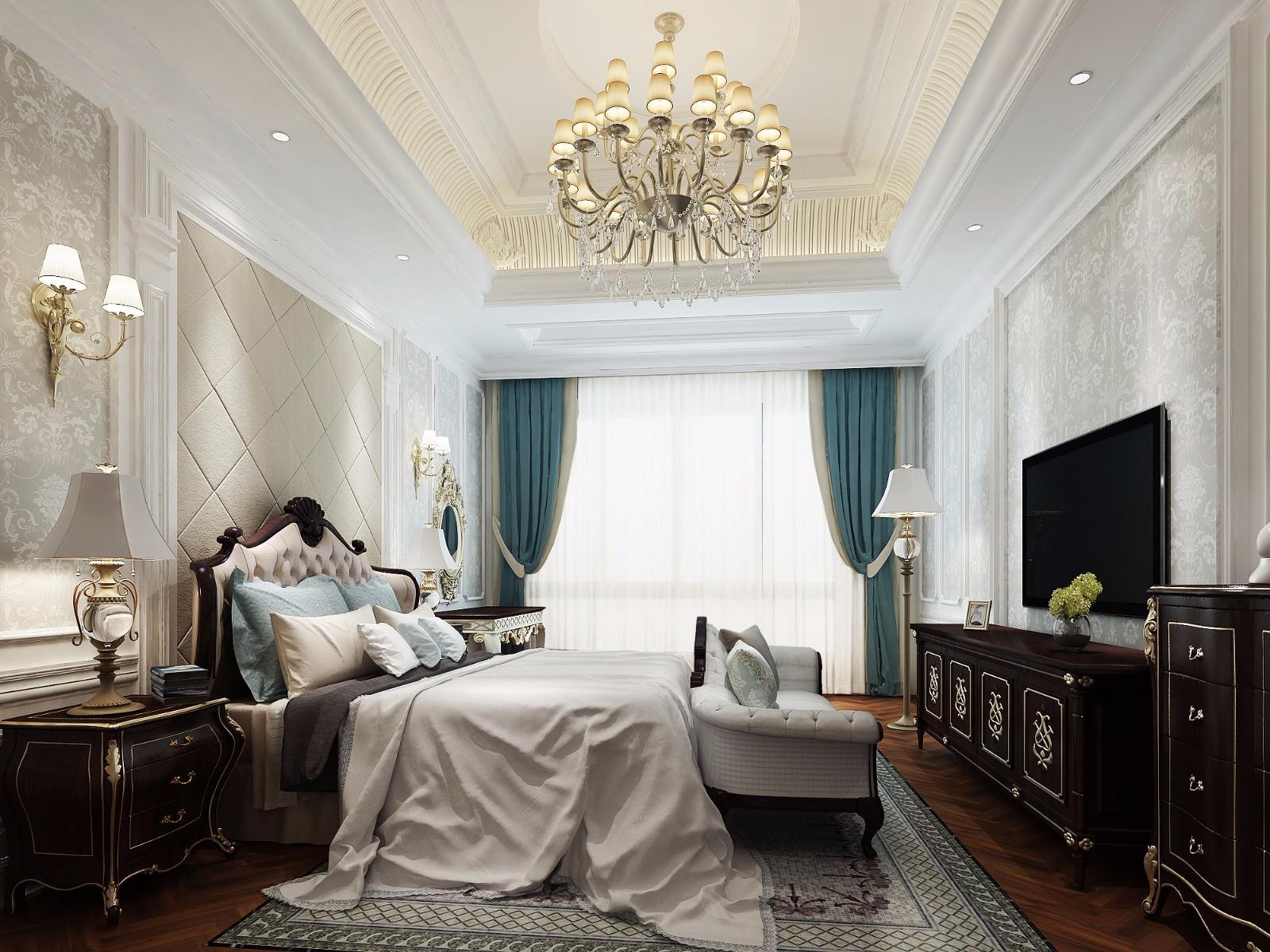 3室2卫2厅125平米欧式风格