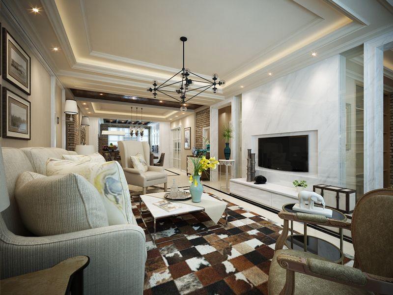 3室1卫1厅150平米混搭风格