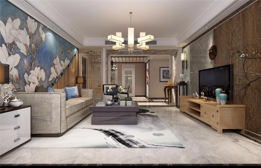 2室1卫2厅155平米新中式风格