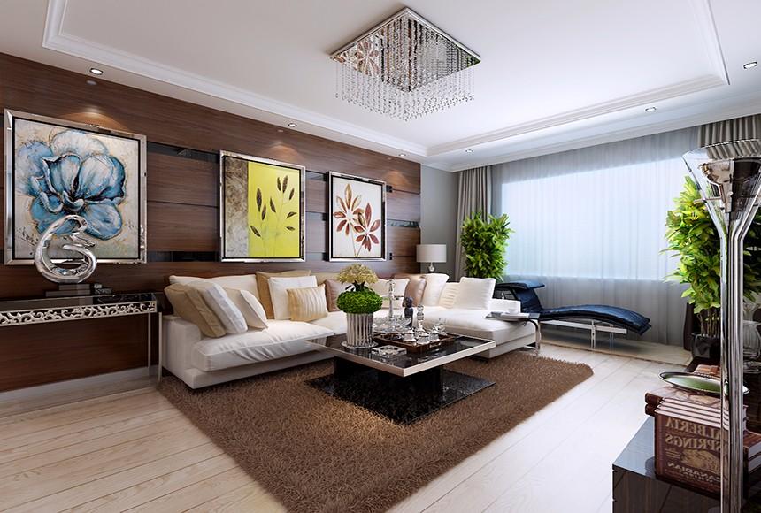 2室1卫1厅90平米现代风格