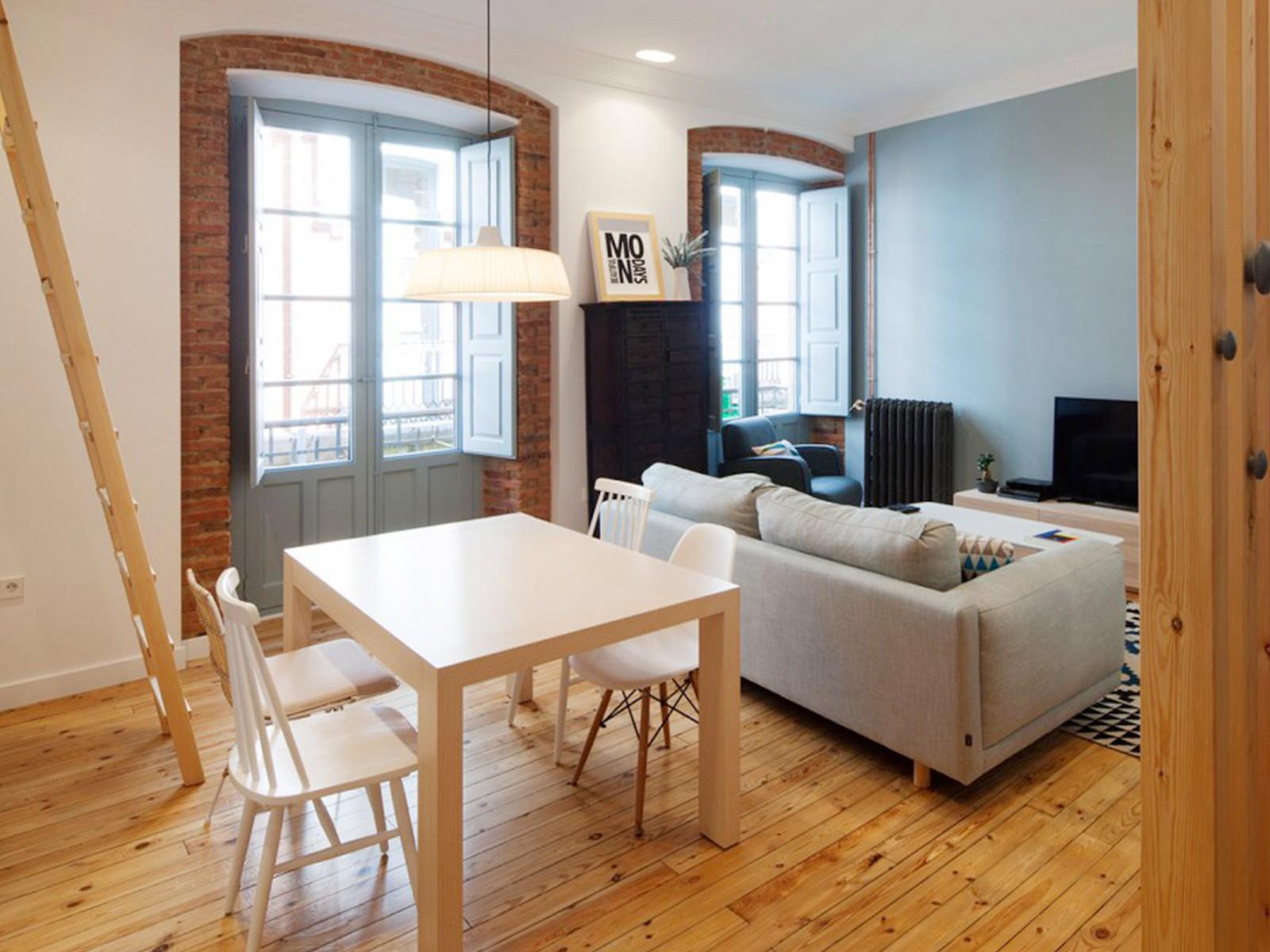 2室1卫1厅88平米北欧风格