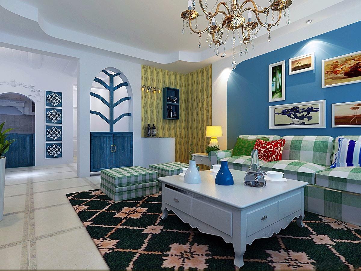 地中海风格175平米套房室内装修效果图