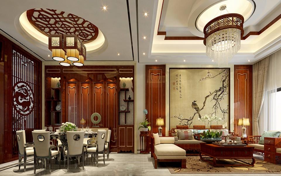 4室2卫2厅157平米新中式风格