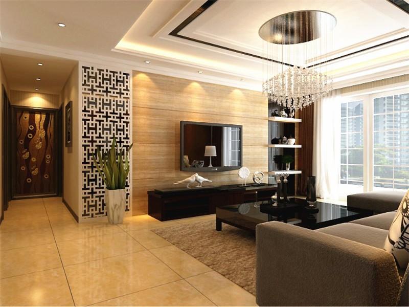 合肥融侨天骏100平简约风格三居室装修案例