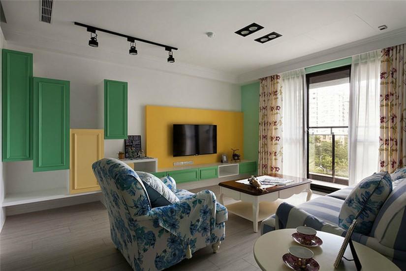 3室2卫2厅106平米美式风格
