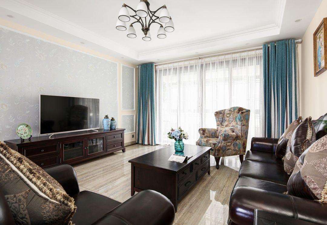 2室1卫1厅135平米美式风格