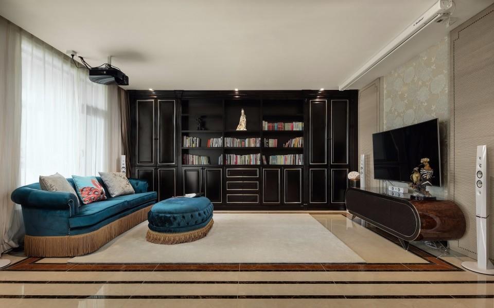 欧式风格194平米三室两厅新房装修效果图
