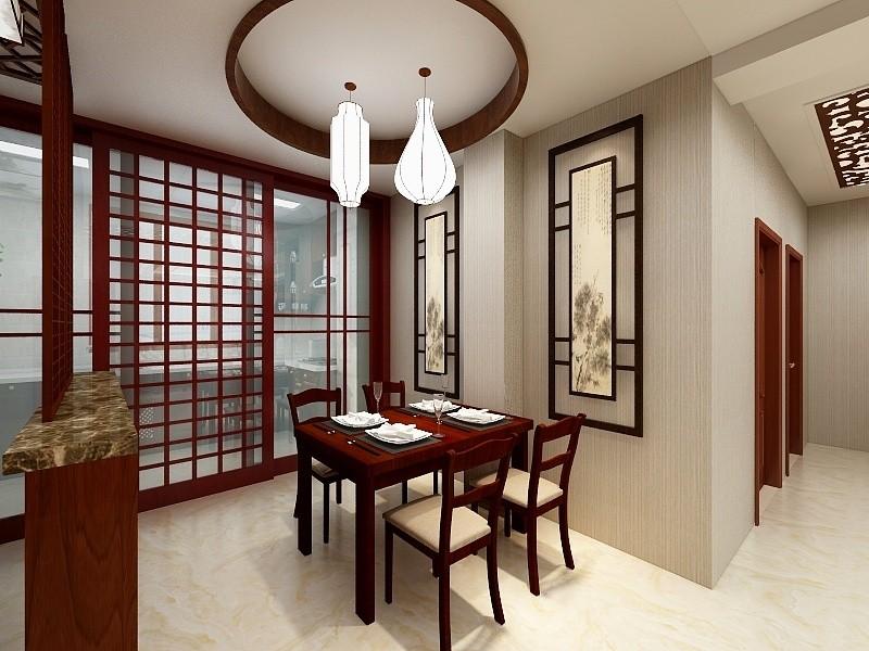 2室1卫1厅130平米中式风格