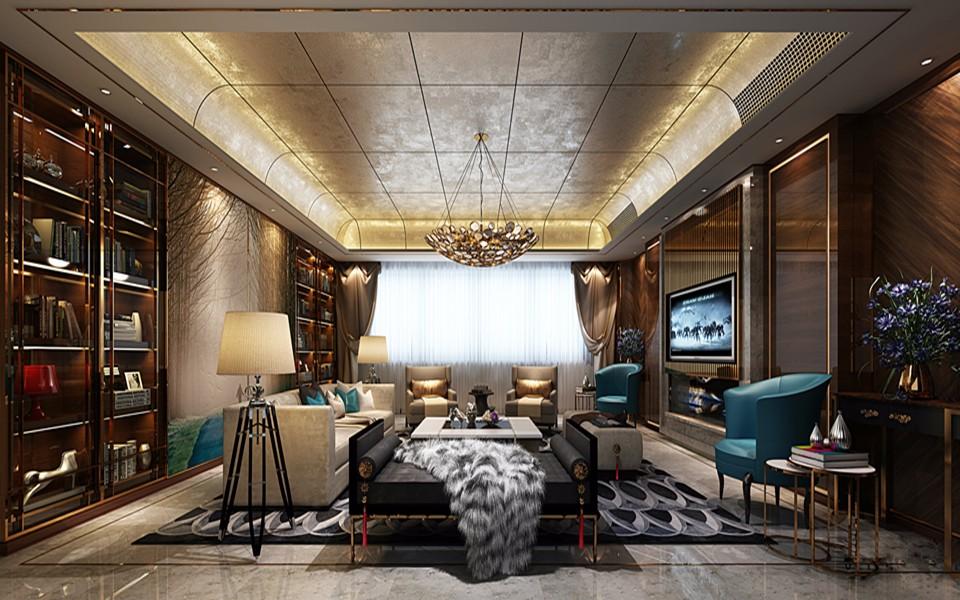5室3卫2厅350平米古典风格