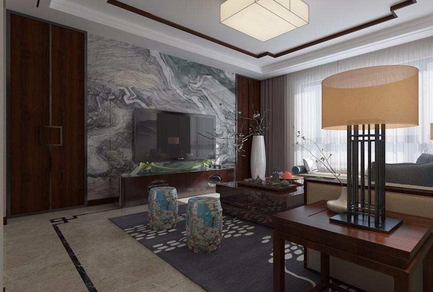 4室2卫2厅160平米新中式风格