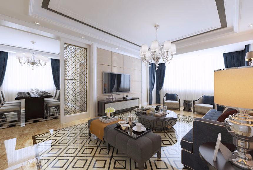 3室2卫2厅160平米简欧风格