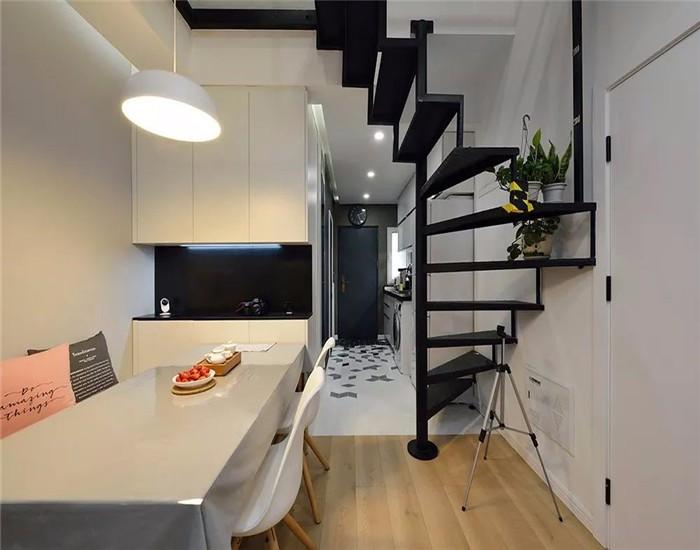 2019简约60平米以下装修效果图大全 2019简约三居室装修设计图片