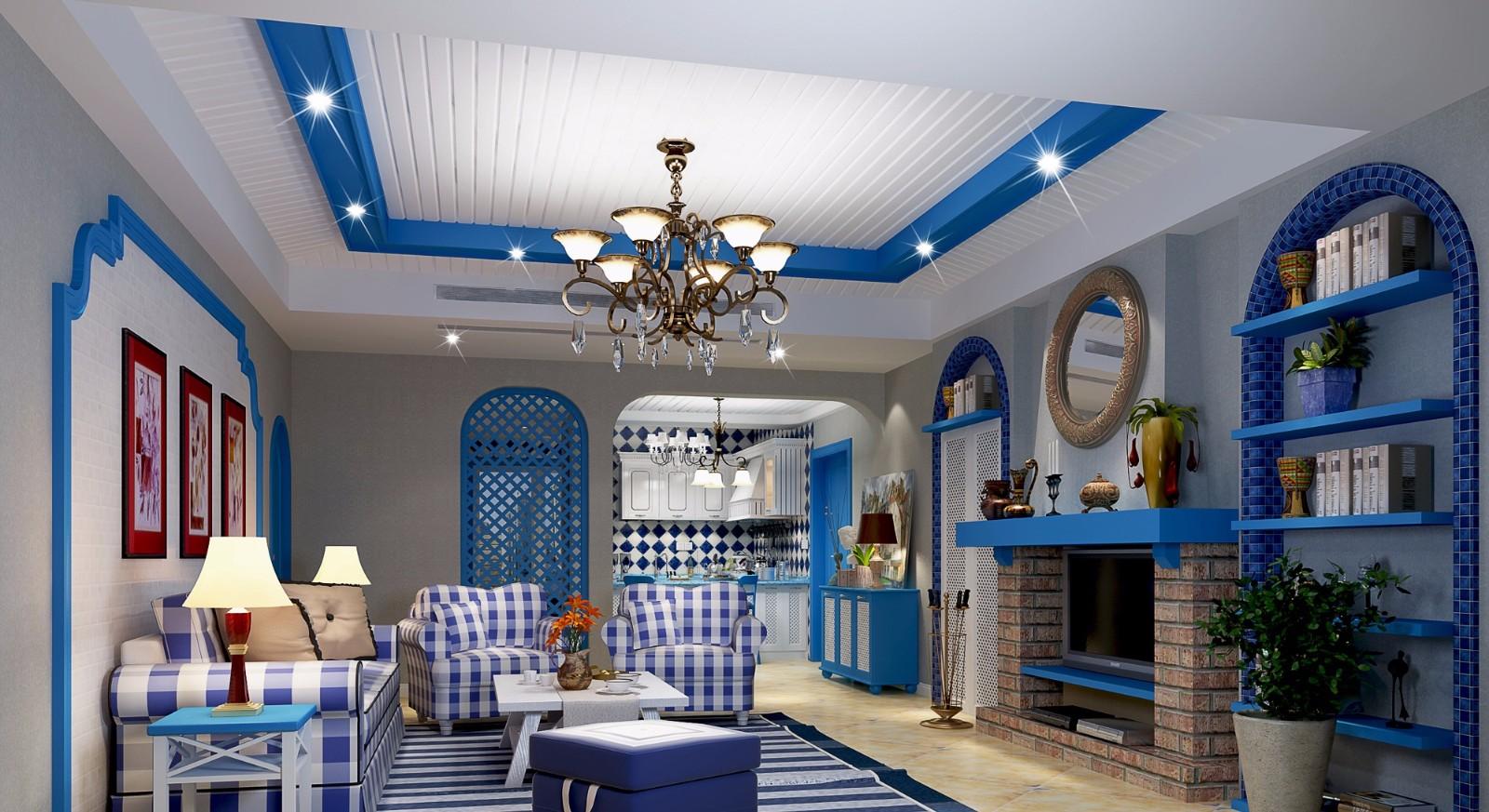 5室3卫2厅190平米地中海风格