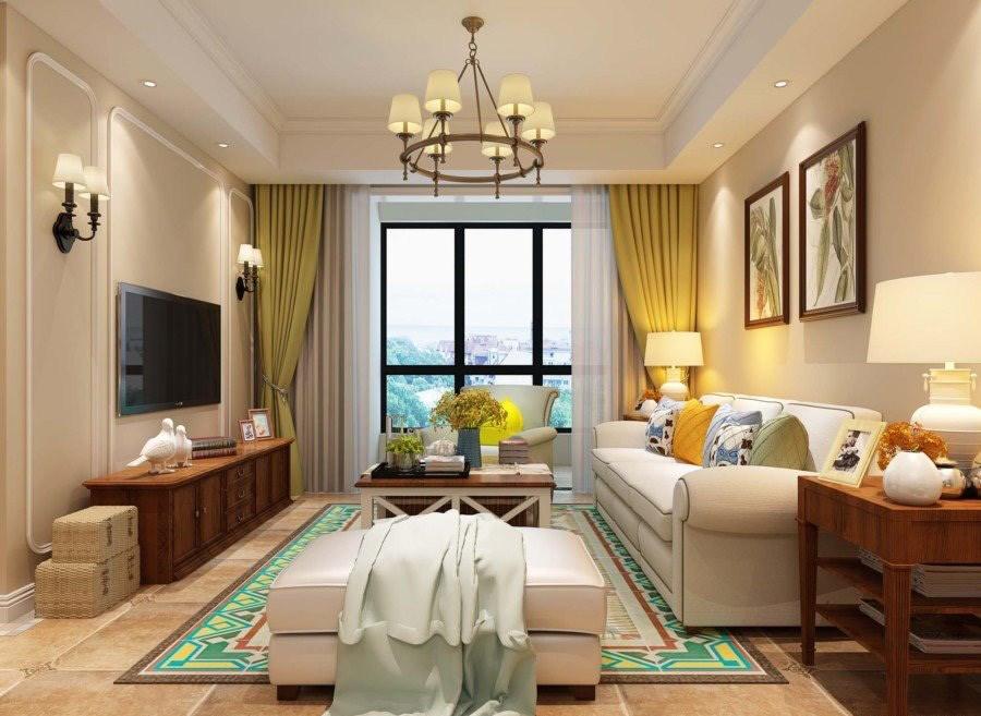 3室1卫2厅113平米美式风格