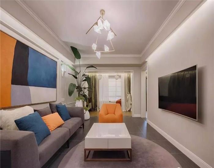 3室2衛1廳142平米簡約風格