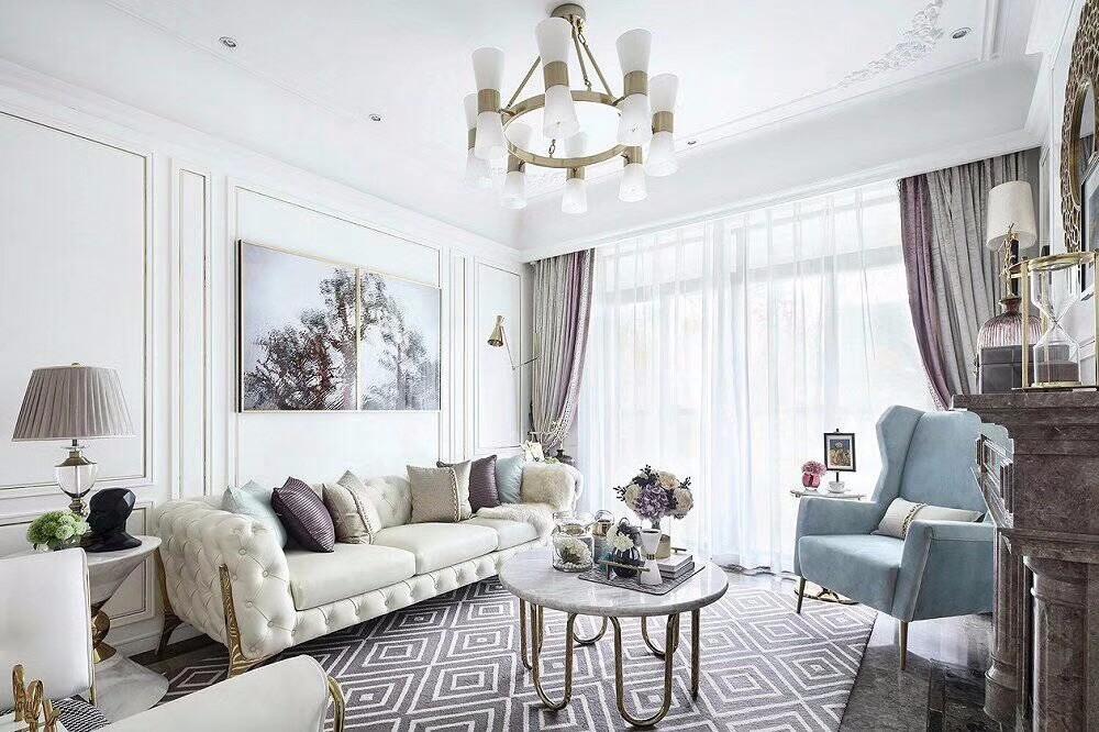 3室2卫2厅130平米美式风格