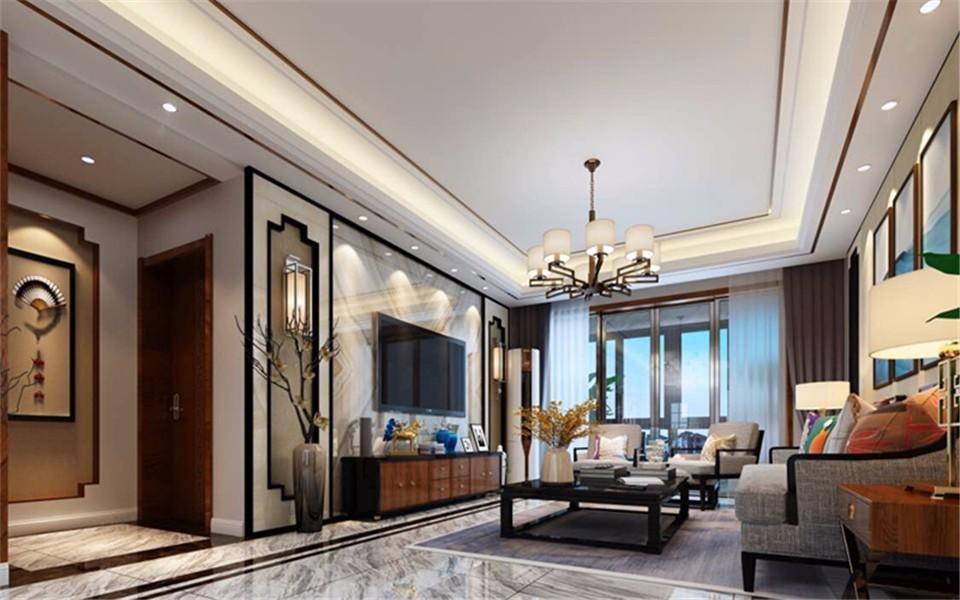 3室1卫2厅118平米后现代风格