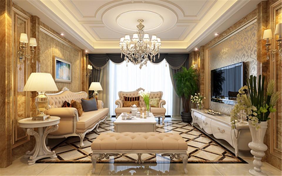 4室2卫2厅164平米欧式风格