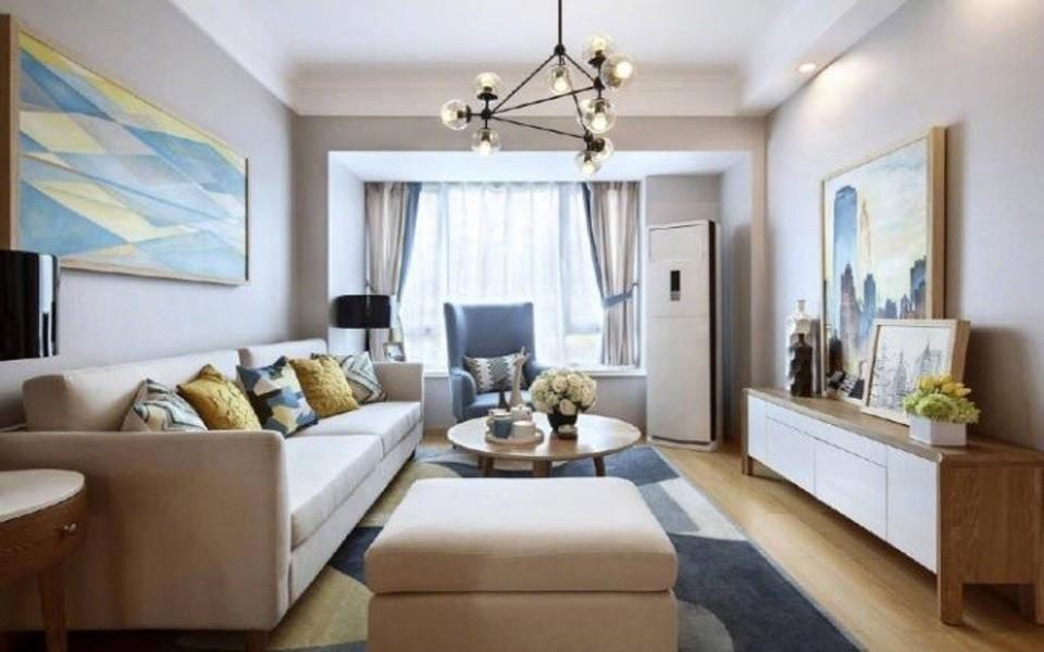 2室1卫2厅115平米简约风格