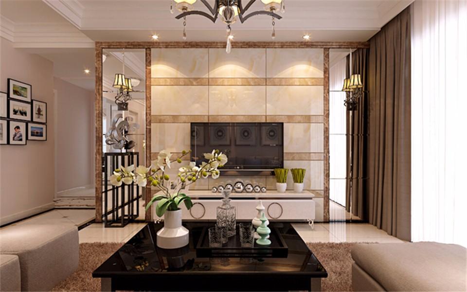 4室1卫2厅135平米现代简约风格