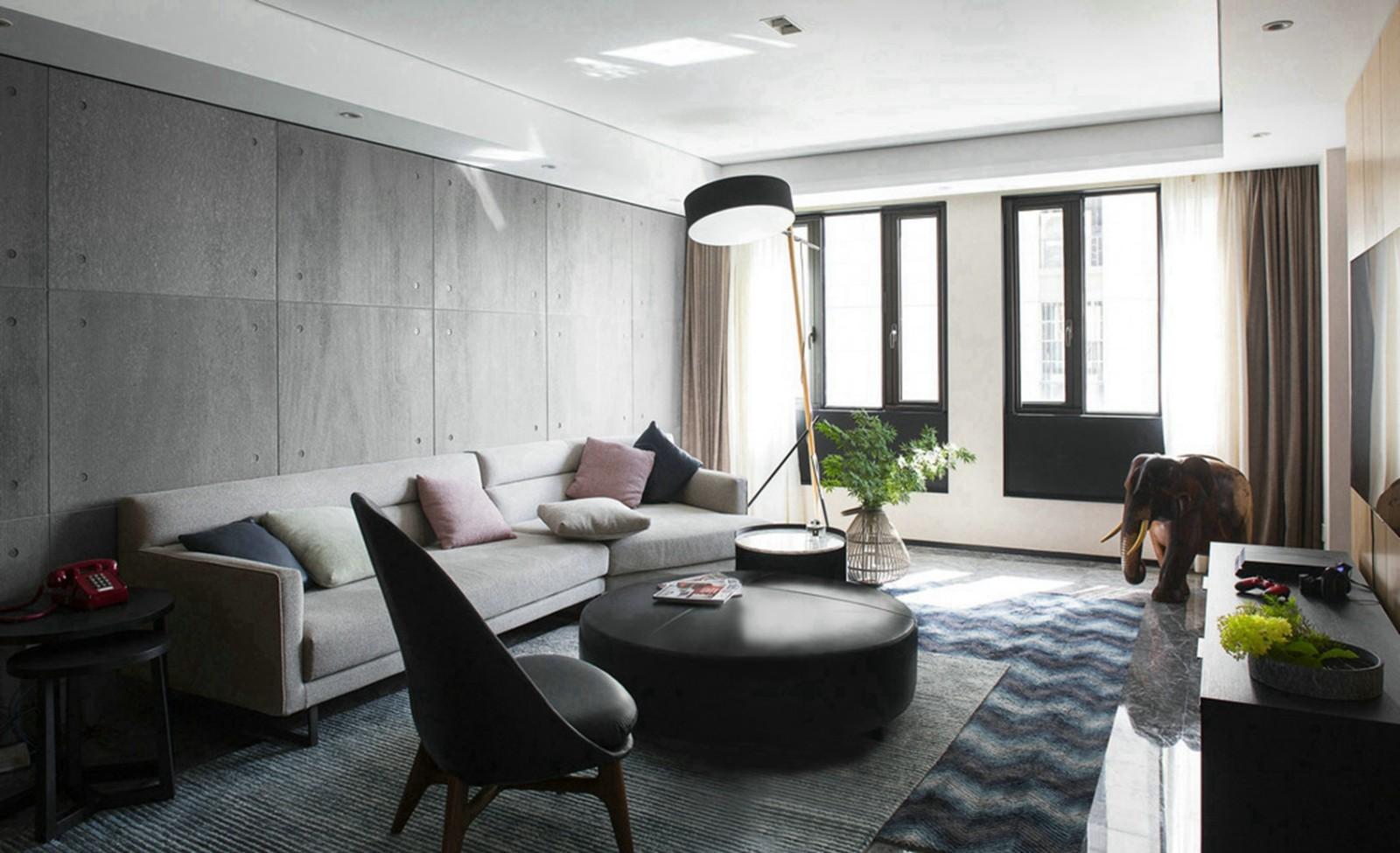 2021后现代70平米设计图片 2021后现代二居室装修设计